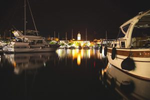 Skradin by night