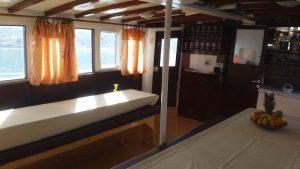 Lounge on board
