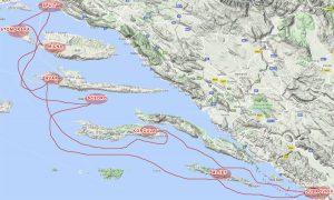 Route Split Dubrovnik