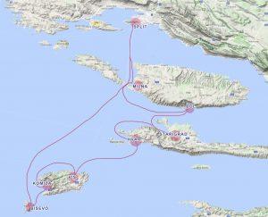 Route Split Vis